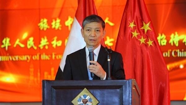 سفير بكين بالقاهرة: زيارة وانج يي لمصر تعكس الاهتمام بتطوير العلاقات