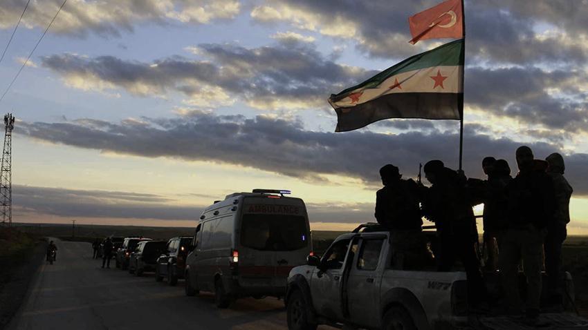 المرصد السوري : فصائل مدعومة من تركيا تداهم المنازل في عفرين وتعتقل 12 مدنيًا