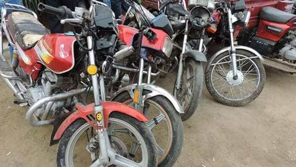 ضبط عناصر تشكيل عصابي بالمنوفية ارتكبوا 8 وقائع سرقة دراجات نارية