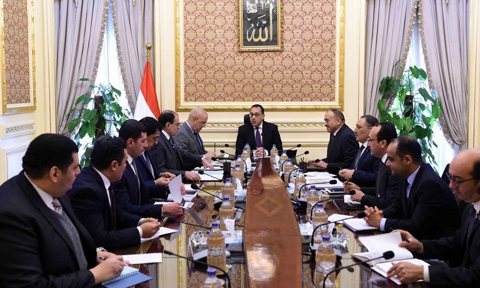 رئيس الوزراء يتابع الموقف التنفيذي لمخطط تنمية أراضي الساحل الشمالي