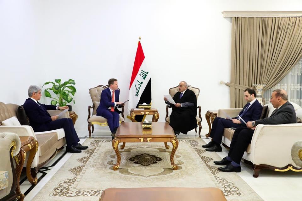 رئيس الوزراء العراقي يبحث مع سفيري بريطانيا وفرنسا جهود التهدئة