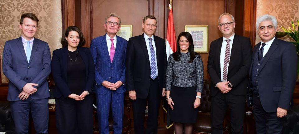 صور   المشاط : تعميق الشراكة مع ألمانيا للمساهمة فى مشروعات تنموية جديدة
