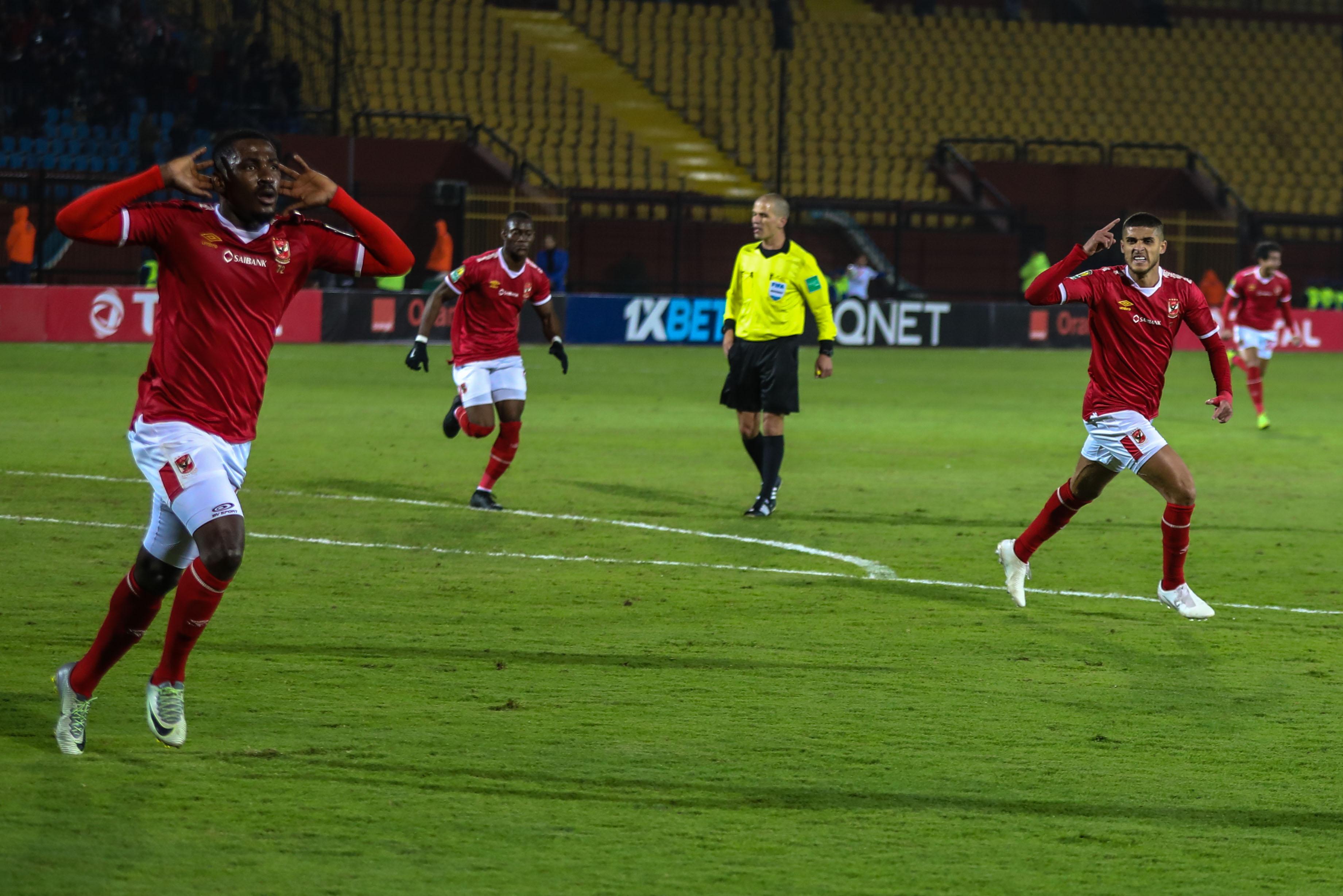 الأهلي يفوز على النجم الساحلي ويتصدر مجموعته في دوري أبطال إفريقيا