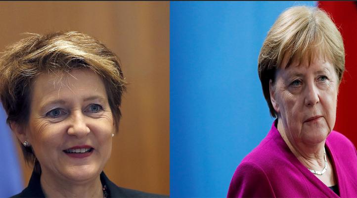 المستشارة الألمانية تهنئ رئيسة سويسرا على توليها مهام منصبها الجديد