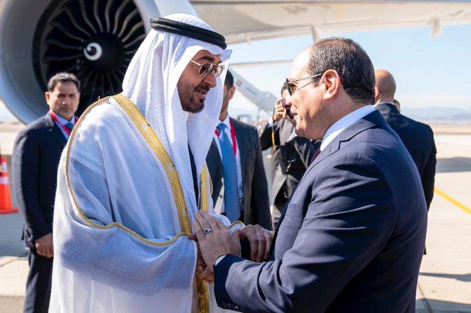 صور | ولي عهد أبوظبي : افتتاح قاعدة برنيس العسكرية إنجاز يعكس رؤية مصر الطموحة