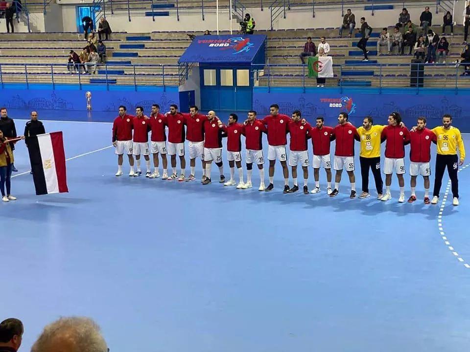 منتخب اليد بطلا لأمم أفريقيا بالفوز على تونس ويتأهل إلى طوكيو 2020