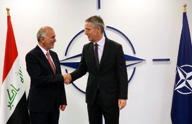 العراق والناتو يبحثان آخر مستجدات الأوضاع في الشرق الأوسط