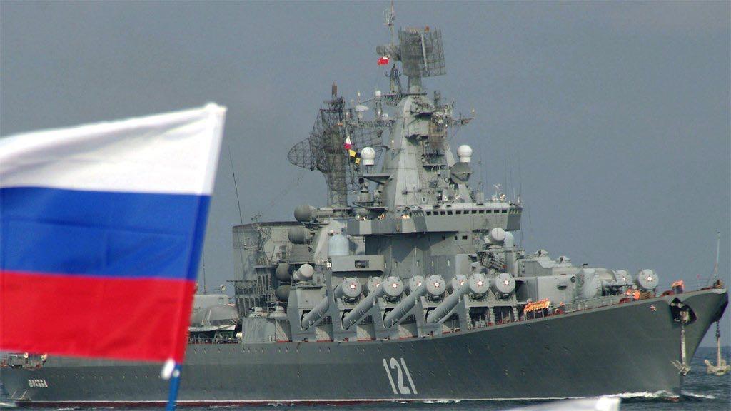 روسيا ترسل سفينة حربية لسوريا استعدادا لمواجهة محتملة بين أمريكا وإيران