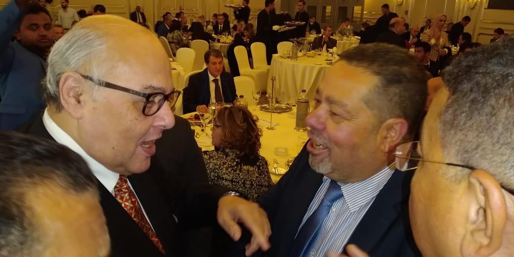 صور | رئيس حزب الغد في احتفالية دعم السياحة مع رئيس البرلمان الإيطالي