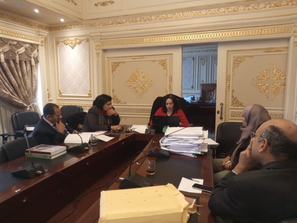 صور | تفاصيل الاجتماع الأول لمجموعة العمل الخاصة بوضع تقرير موازنة البرامج 2018-2019