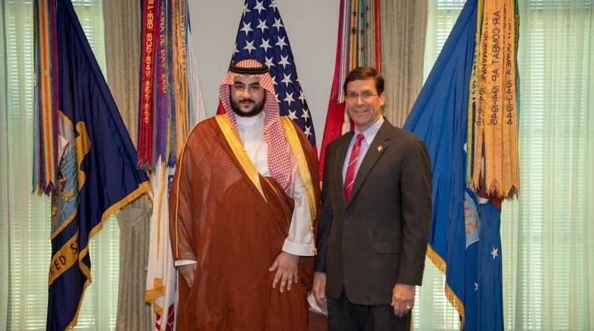 مباحثات عسكرية بين السعودية والولايات المتحدة حول التحديات المشتركة