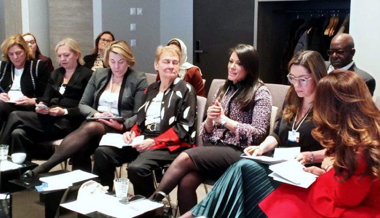 وزيرة التعاون الدولي : مصر تعمل على تعزيز دور المرأة كفاعل رئيسي فى التنمية