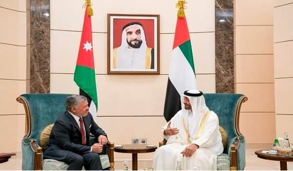 هاتفيا.. ولي عهد أبوظبي يبحث مع العاهل الأردني العلاقات الثنائية