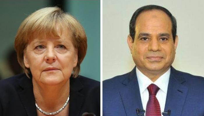 بسام راضي: الرئيس السيسي يتلقي اتصالا هاتفيا من المستشارة الألمانية