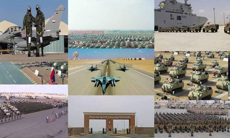 الأضخم بالشرق الأوسط.. المتحدث العسكرى ينشر فيديو من قاعدة برنيس العسكرية