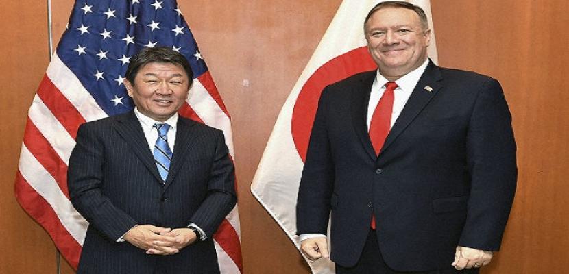 أمريكا واليابان تتفقان على تكثيف الجهود لتجنب تصاعد التوتر بالشرق الأوسط