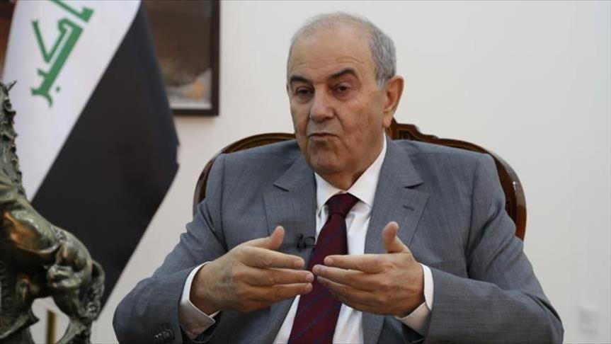 إياد علاوي يستنكر أي اعتداء على البعثات الدبلوماسية بالعراق