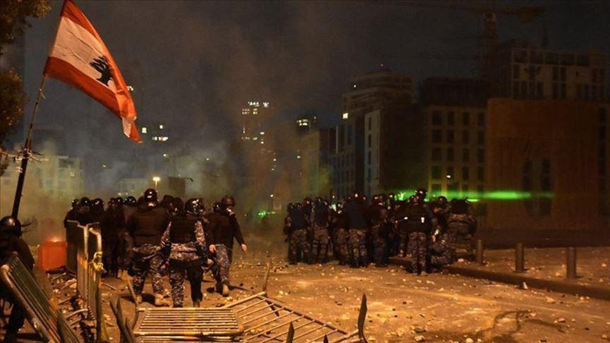 الأمن اللبناني: إصابة 142 عنصرا شرطيا خلال أحداث شغب بيروت
