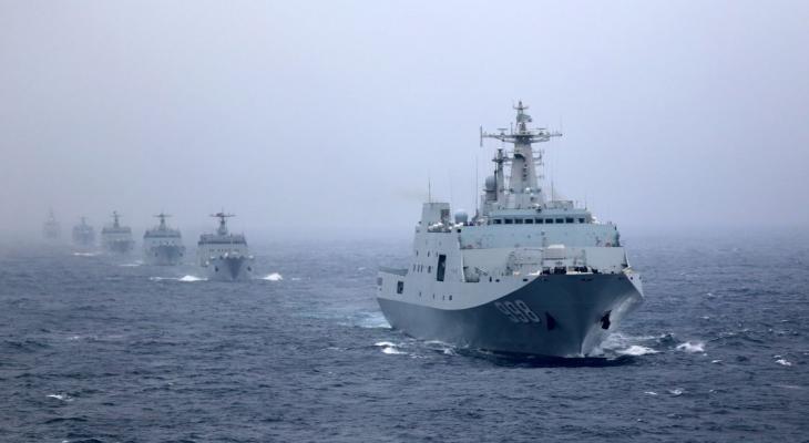 مناورات عسكرية لقوات مشاة البحرية التايوانية