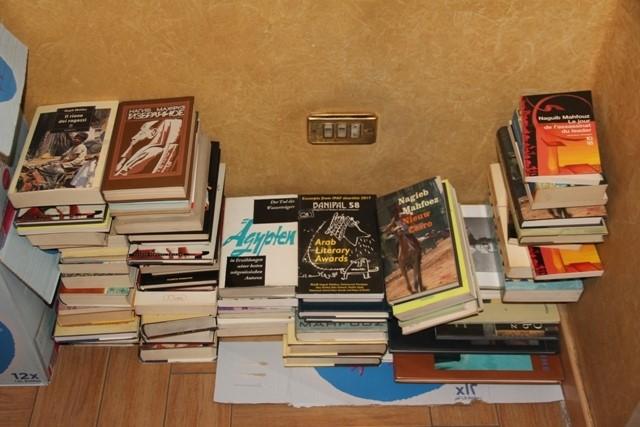 الثقافة تتسلم257 كتابا ومخطوطا لأديب نوبل2