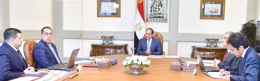 صور  الرئيس السيسي يبحث استراتيجية عمل هيئة المحطات النووية وجهود الميكنة بها