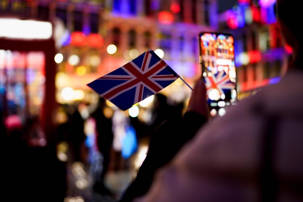 صور| آلاف البريطانيين يحتفلون أمام مبنى البرلمان بالخروج من الاتحاد الأوروبي