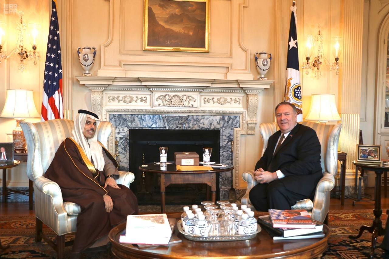 السعودية والولايات المتحدة تبحثان المتسجدات الإقليمية والدولية