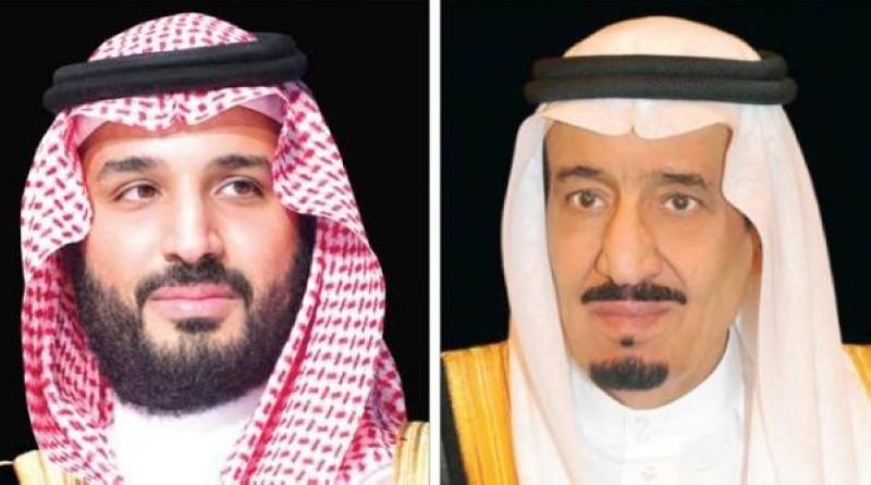 الملك سلمان وولي العهد السعودي يعزيان الرئيس السيسي في وفاة مبارك
