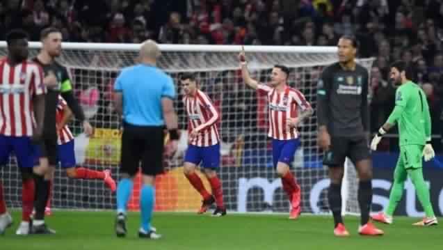 ليفربول يخسر أمام اتليتكو مدريد على ملعب واندا متروبوليتانو