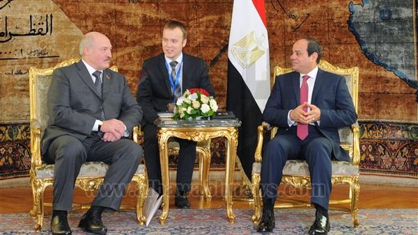 انطلاق مباحثات القمة المصرية البيلاروسية بقصر الاتحادية