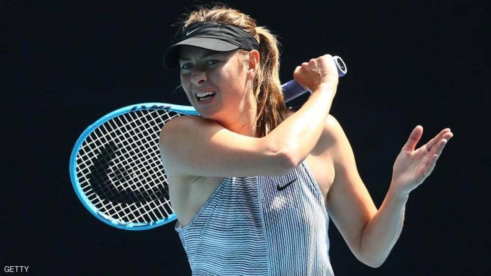 الروسية شارابوفا تعلن اعتزال التنس