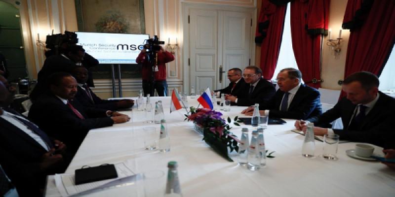 لافروف يؤكد لحمدوك دعم روسيا مفاوضات السلام السودانية في جوبا