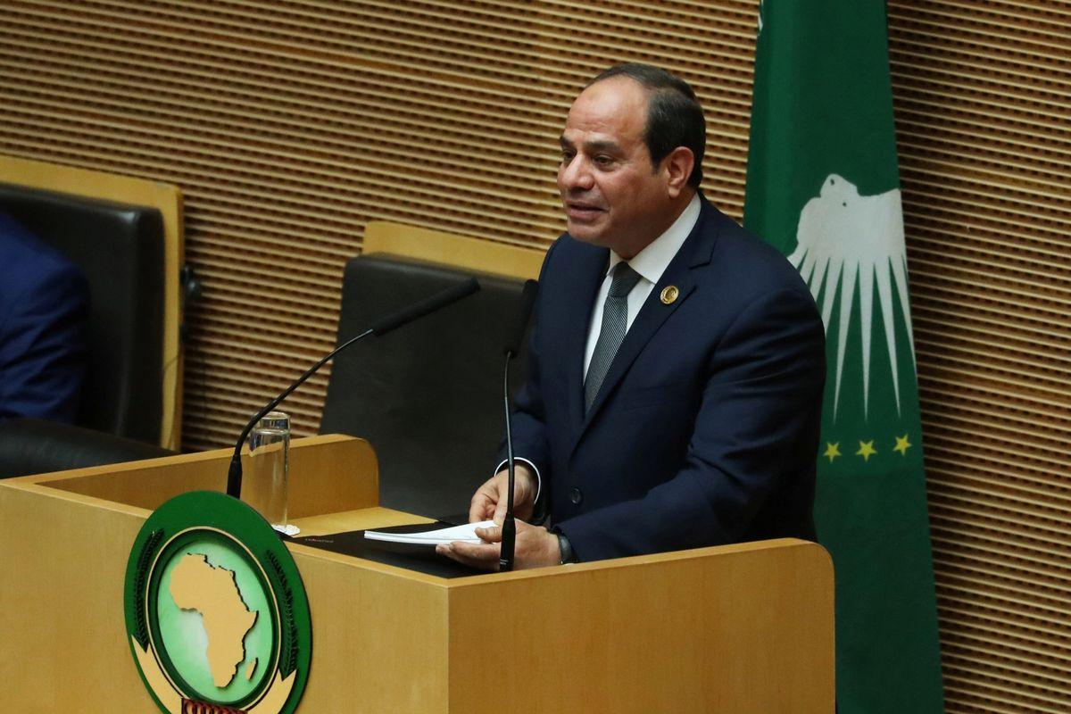 الرئيس السيسي يستعرض رؤية مصر في التنمية بأفريقيا أمام قمة أديس أبابا