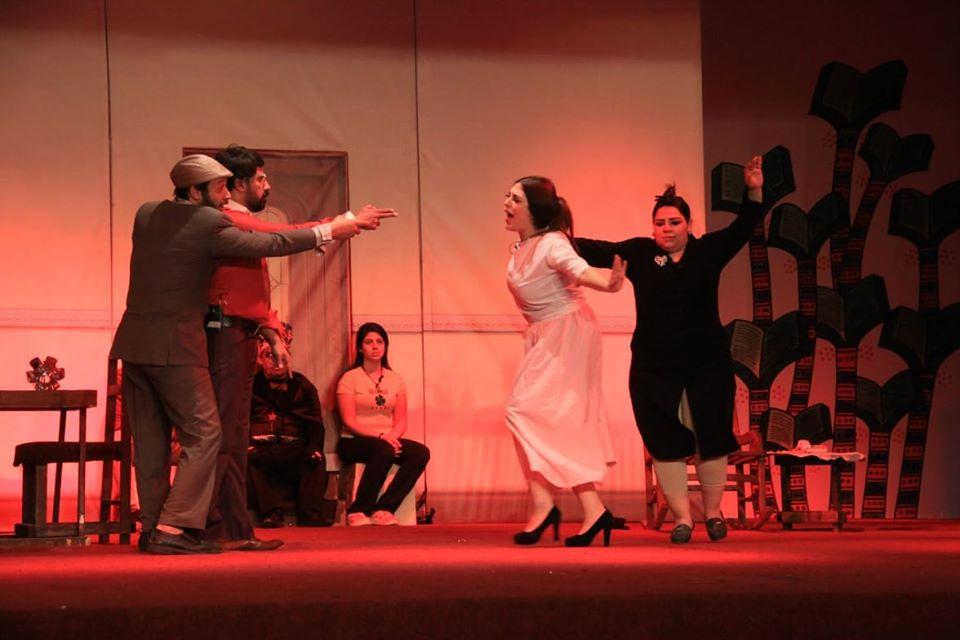 صور | «مودة» يقدم عرضاً مسرحياً ضمن فعاليات معرض القاهرة الدولي للكتاب