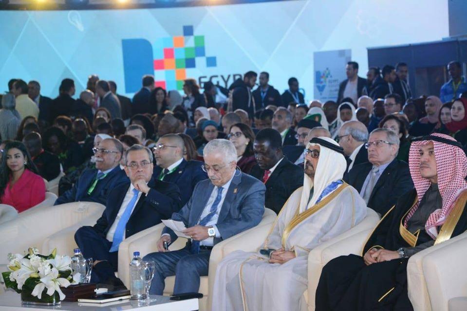 صور | انطلاق فعاليات مؤتمر تعزيز التعليم فى الشرق الأوسط وإفريقيا