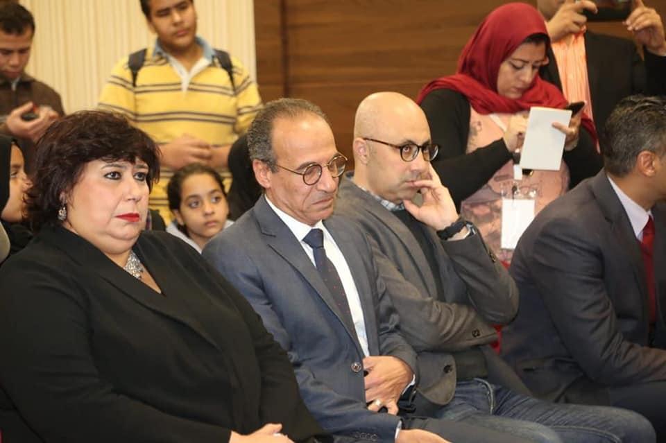 وزير الثقافة تكرم اسم الراحل محمد حسن خليفة وتوجه بطباعة مؤلفاته فى هيئة الكتاب