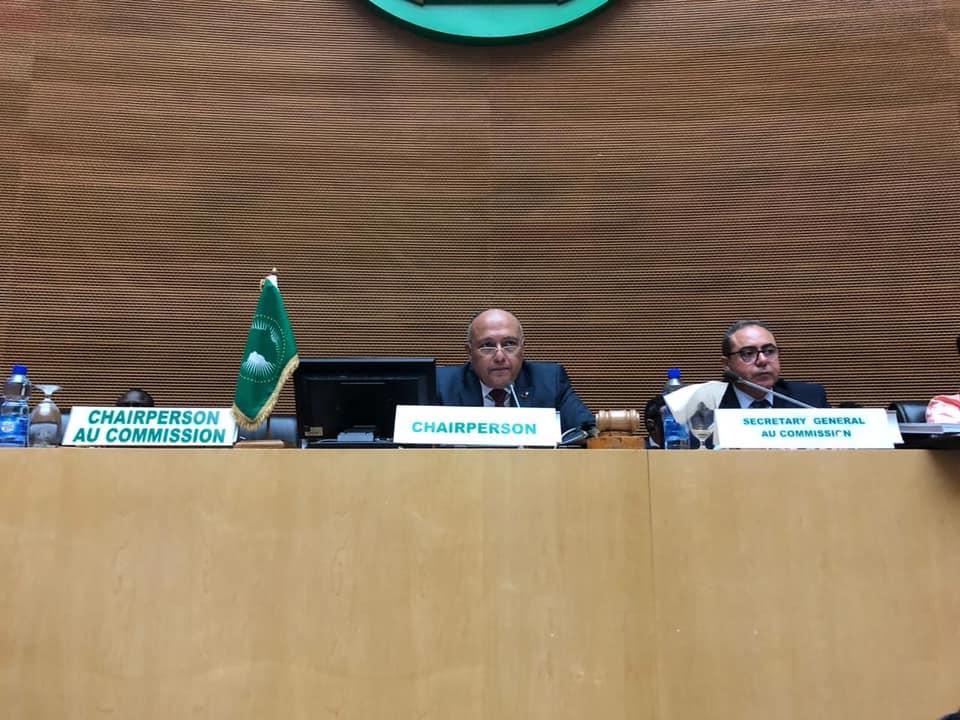 صور   وزير الخارجية يترأس إجتماعات المجلس التنفيذي للاتحاد الإفريقي بأديس أبابا