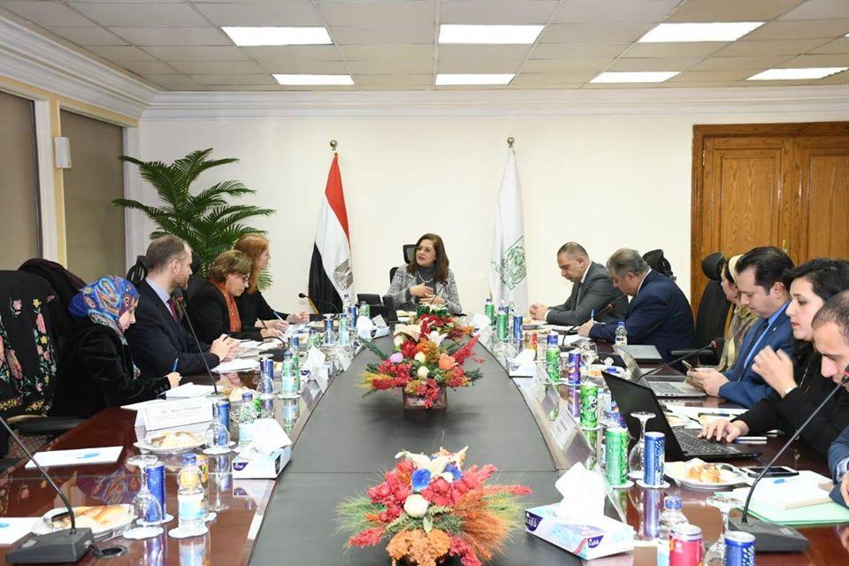وزيرة التخطيط تلتقي مسؤولة بالأمم المتحدة لتحديد نطاق عمل برنامج المنظمة في مصر