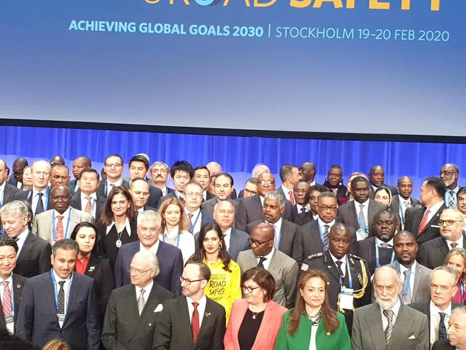 وزير النقل يشارك في المؤتمر العالمي لسلامة الطرق بالسويد