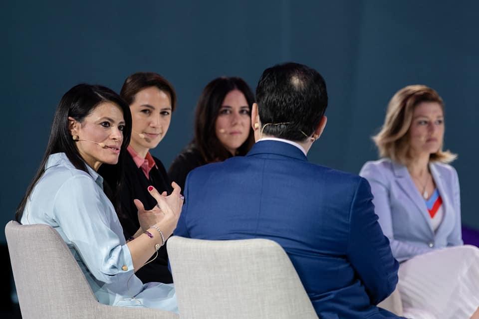 وزيرة التعاون الدولى: التنمية الشاملة لا يمكن تحقيقها دون المشاركة الإيجابية من المرأة