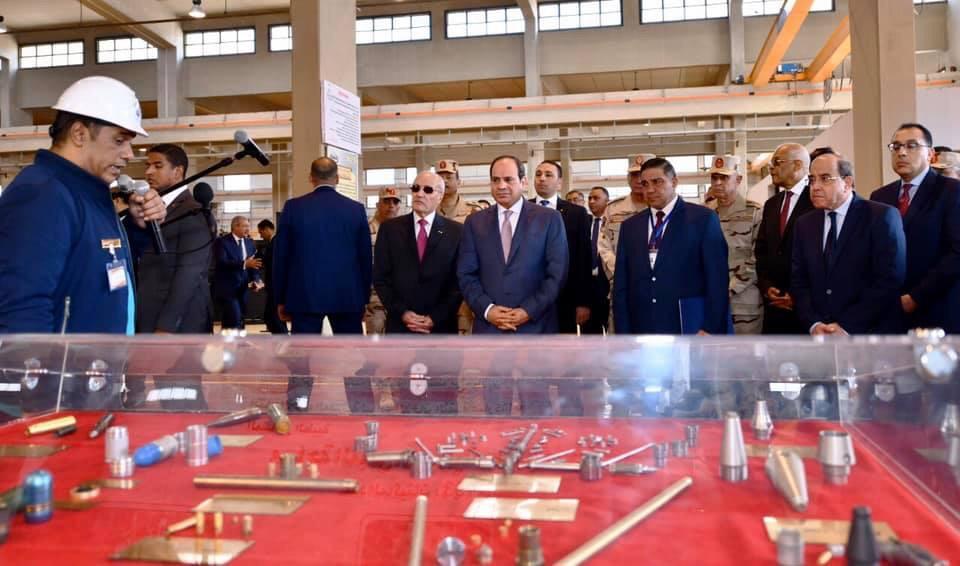 افتتاح الرئيس السيسي لمصنع 300 حربي والشأن المحلي يتصدران اهتمامات الصحف