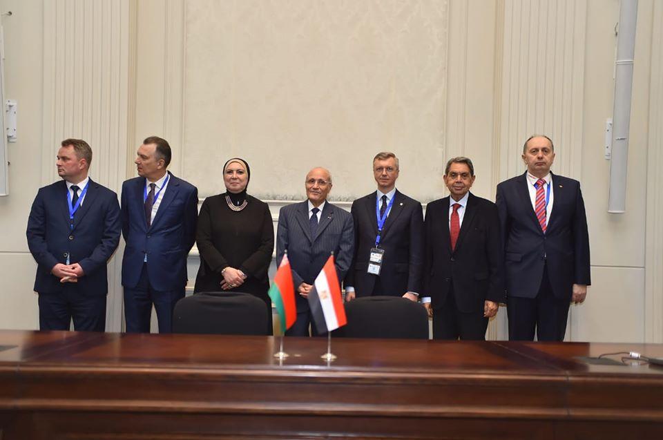 وزيرا التجارة والإنتاج الحربي يشهدان توقيع 12 اتفاقية ومذكرة تفاهم بين مصر وبيلاروسيا
