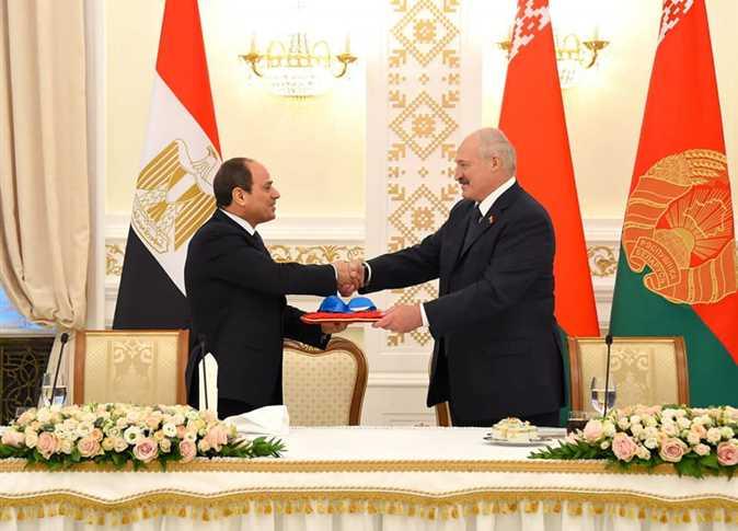 رئيس بيلاروسيا : مصر دولة صديقة وشريك اقتصادي هام لنا في الشرق الأوسط