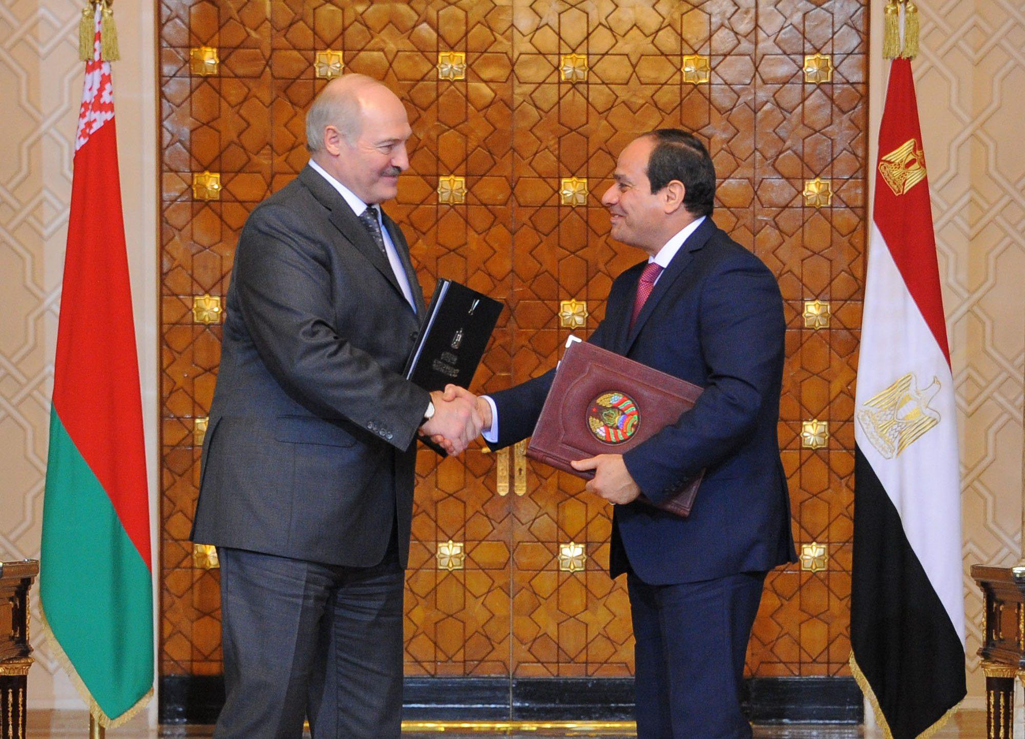 الرئيس السيسي ونظيرة البيلاروسي يشهدان مراسم توقيع 4 اتفاقيات تفاهم بين البلدين