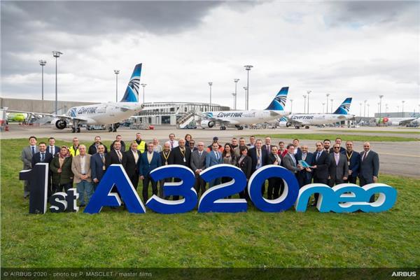 فيديو| مصرللطيران أول مشغل لـ «A320 NEO» في أفريقيا والشرق الأوسط