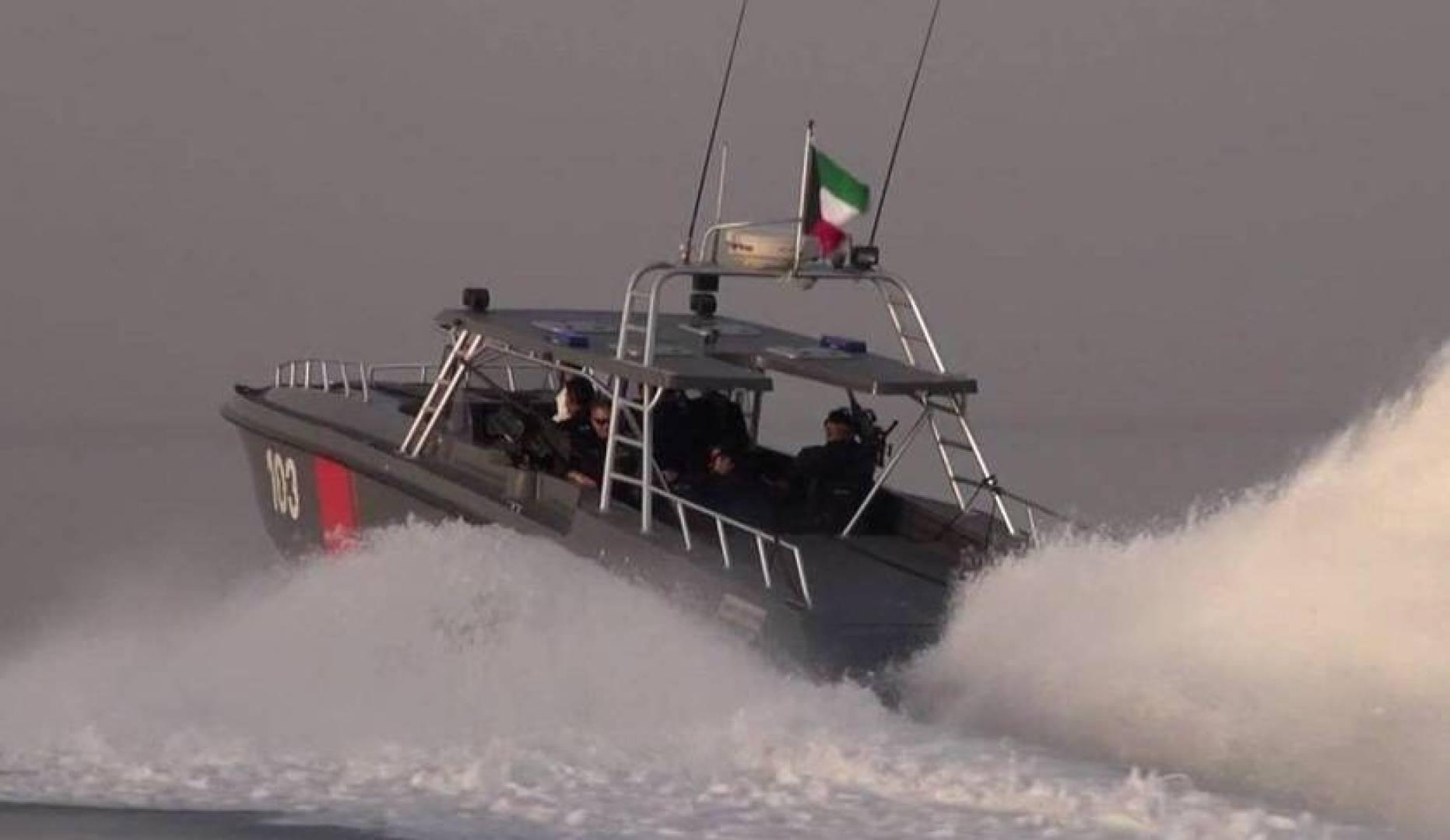 الكويت: ضبط 8 إيرانيين تسللوا إلى البلاد عبر البحر