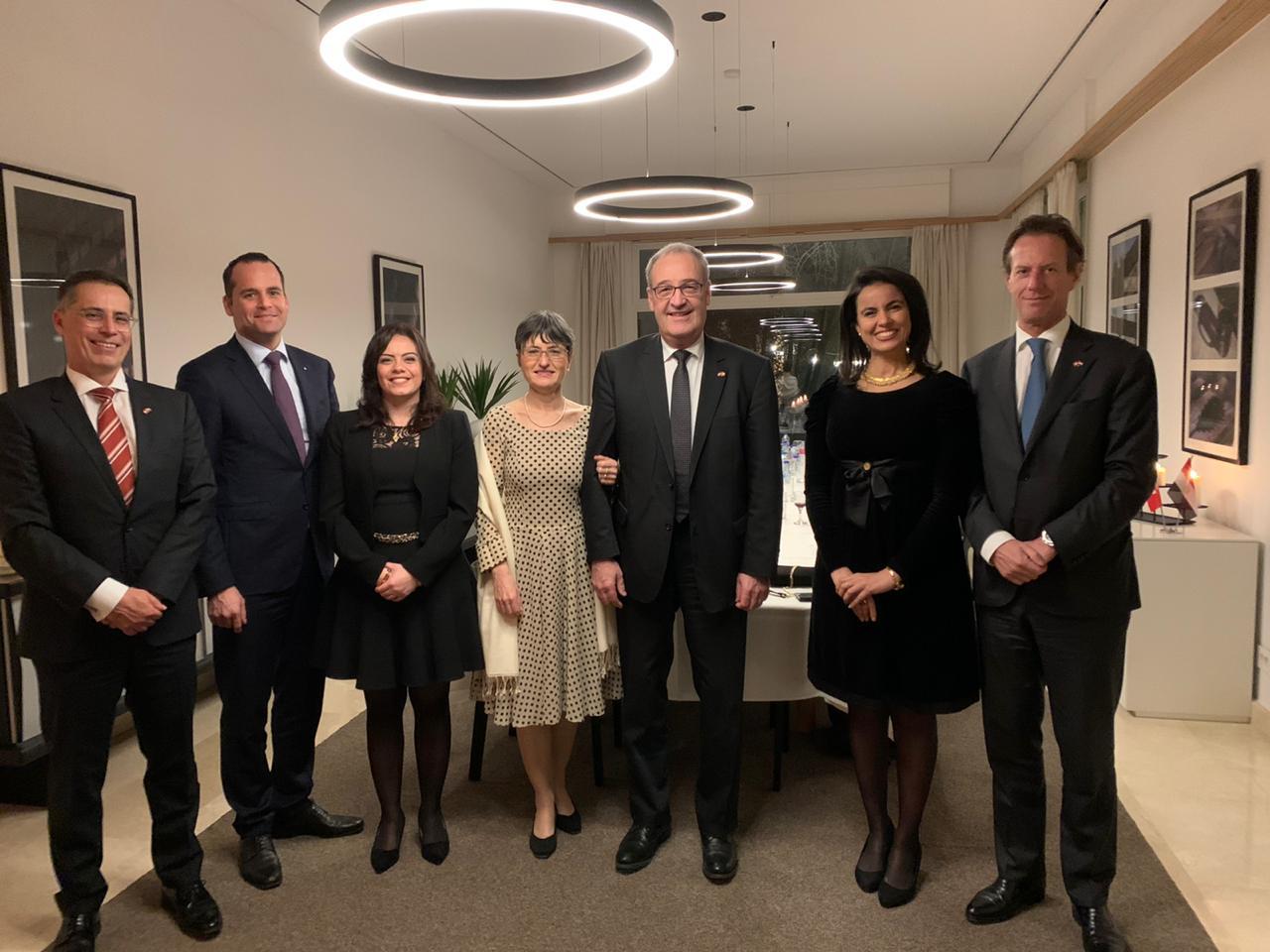 سيلفيا نبيل: اللقاء مع وزير الاقتصاد السويسري ناقش التعاون فيما يخص الأهداف الأممية