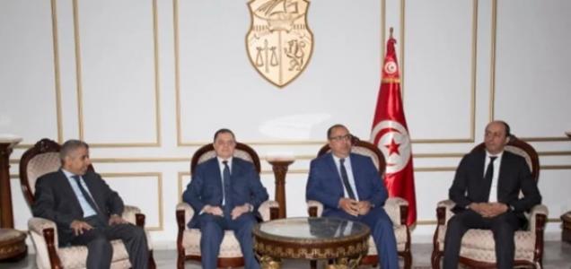 صورة  اللواء محمود توفيق يصل تونس للمشاركة فى مؤتمر وزراء الداخلية العرب