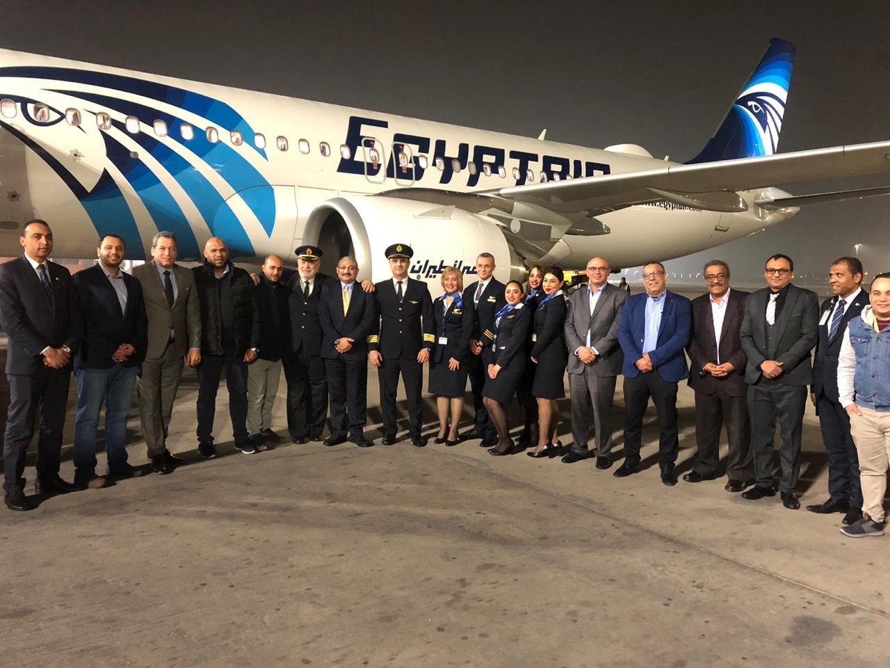 صور   مصر للطيران تتسلم الطائرة الثانية من طراز الإيرباص A320 neo