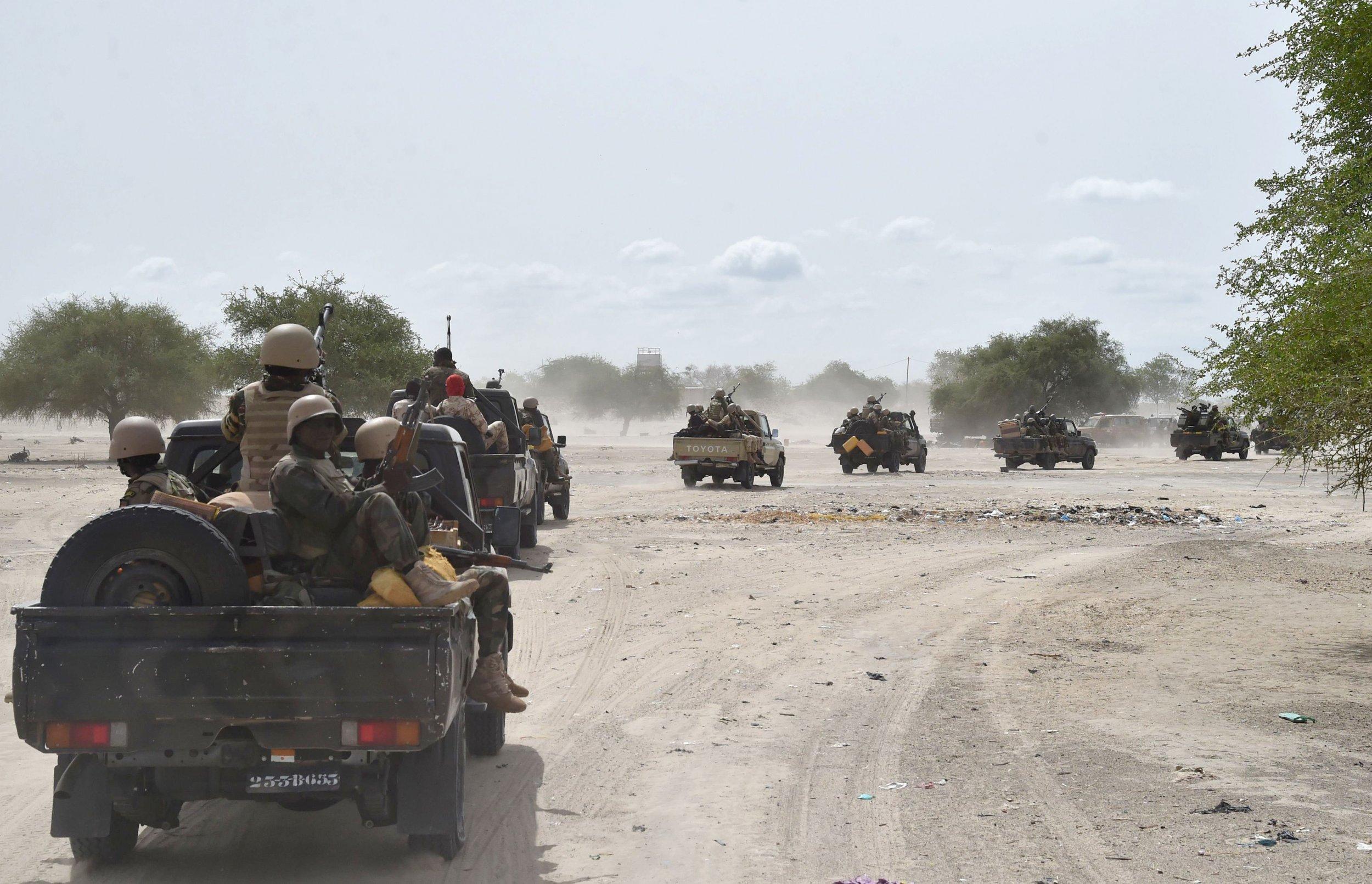 النيجر: مقتل 120 إرهابيًا خلال عملية عسكرية مشتركة مع القوات الفرنسية